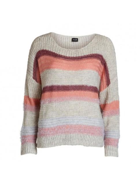 Jersey de punto mezcla de tejidos multicolor  VILA CLOTHES